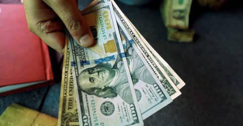 Placeholder - loading - Imagem da notícia Dólar engata queda contra real com estímulo e dados dos EUA no radar