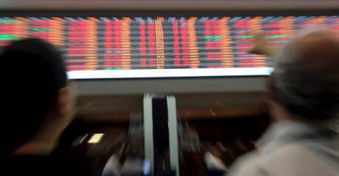 Placeholder - loading - Imagem da notícia Ibovespa sobe com bancos, mas indefinição nos EUA reduz fôlego
