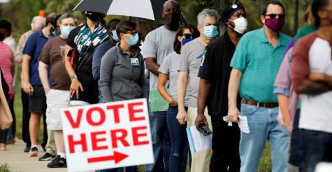 Placeholder - loading - Imagem da notícia Mais de 47 milhões já votaram antecipadamente em eleições dos EUA, superando número de 2016