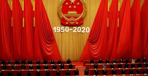 Placeholder - loading - Em aniversário de guerra, Xi diz que interesses da China não serão minados