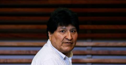 Placeholder - loading - Imagem da notícia Evo Morales deixa Argentina em avião com destino à Venezuela, diz agência estatal argentina