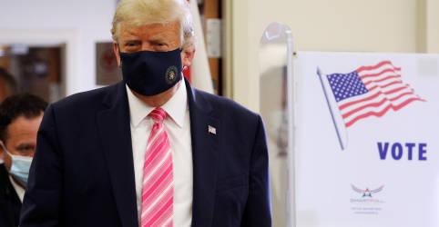 Placeholder - loading - Trump vota na Flórida antes de comícios em 3 Estados, Biden vai à Pensilvânia