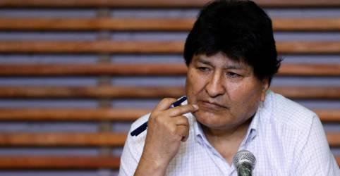Placeholder - loading - Justiça da Bolívia anula mandado de prisão contra Evo Morales