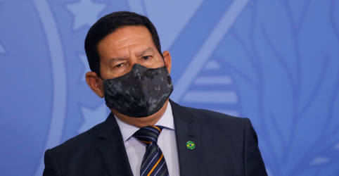 Placeholder - loading - Mourão diz que 'lógico' que Brasil vai comprar vacina chinesa