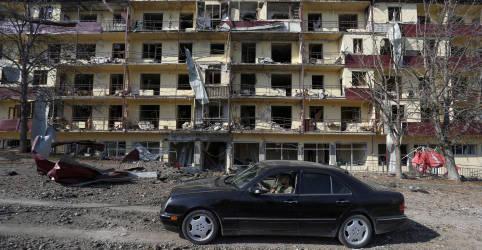 Placeholder - loading - Imagem da notícia Armênia e Azerbaijão concordam em distensionar conflito de Nagorno-Karabakh