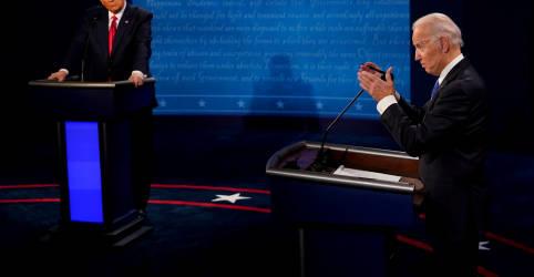 Placeholder - loading - Biden e Trump investem em Estados decisivos e trocam farpas na véspera da eleição