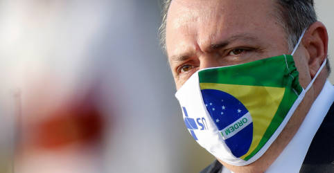 Placeholder - loading - Imagem da notícia Ministério da Saúde diz que Pazuello está bem, mas ministro segue hospitalizado