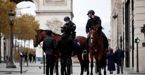 Placeholder - loading - Imagem da notícia França cogita novo toque de recolher em Paris vendo desrespeito a lockdown