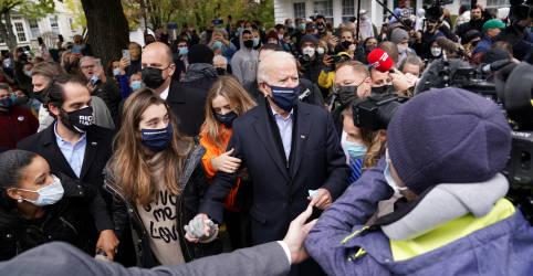 Placeholder - loading - Imagem da notícia Após campanha atípica, norte-americanos darão veredito final nas urnas