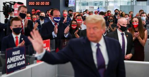 Placeholder - loading - Imagem da notícia Cai apoio a Trump entre eleitores mais velhos e homens brancos, mostra boca de urna