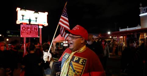 Placeholder - loading - Trump lidera na decisiva Flórida; disputa com Biden é acirrada em outros Estados