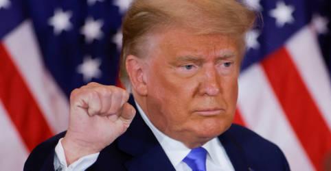 Placeholder - loading - Sem resultados claros em Estados cruciais, Trump declara vitória em eleição nos EUA