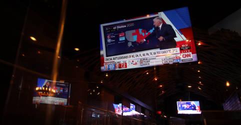 Placeholder - loading - Imagem da notícia Projeção mostra Biden com 220 votos no Colégio Eleitoral contra 213 de Trump