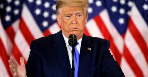 Placeholder - loading - Campanha de Trump diz que cédulas 'depositadas ilegalmente' não devem ser contadas