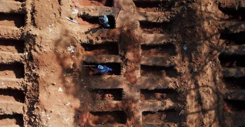 Placeholder - loading - Imagem da notícia Brasil registra 610 novas mortes por Covid-19 e total de óbitos passa de 161 mil