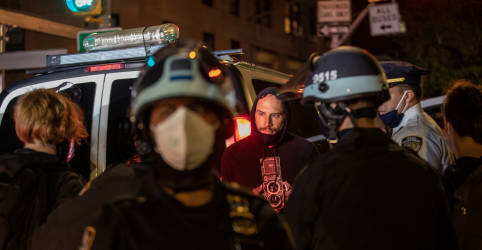 Placeholder - loading - Polícia prende 11 em Portland e 50 em Nova York durante protestos pós-eleitorais