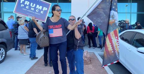 Placeholder - loading - Imagem da notícia Trump perde ações legais sobre apuração em Michigan e Geórgia; promete contestação em Nevada
