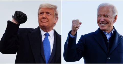 Placeholder - loading - Imagem da notícia Com 98% dos votos apurados na Geórgia, Trump tem 49,4% e Biden soma 49,3%, diz Edison Research