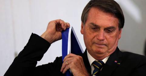 Placeholder - loading - Bolsonaro reafirma preferência, mas diz que Trump não é homem mais importante do mundo