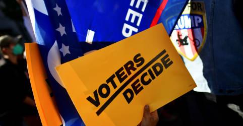 Placeholder - loading - Biden tem 6.817 votos de vantagem sobre Trump na Pensilvânia, diz Edison Research