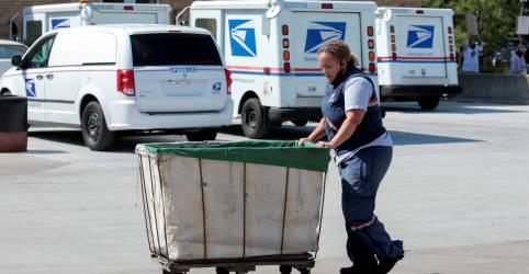 Placeholder - loading - Correios dos EUA entregaram 40.000 cédulas pelo país na quinta-feira, diz advogado