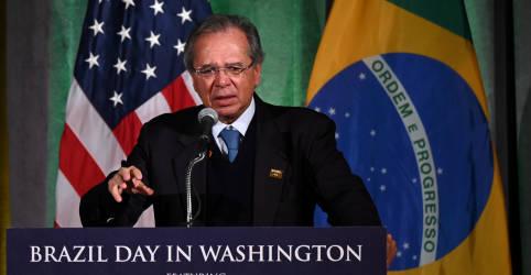 Placeholder - loading - Vamos seguir nosso relacionamento, diz Guedes sobre possível eleição de Biden