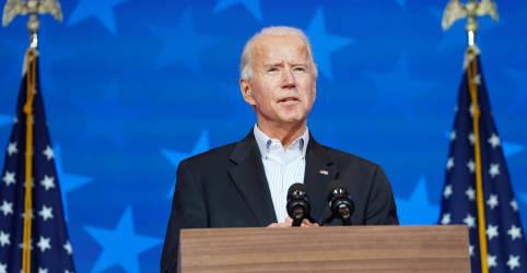 Placeholder - loading - Biden aproxima-se da vitória na eleição dos EUA e Trump mantém tom desafiador