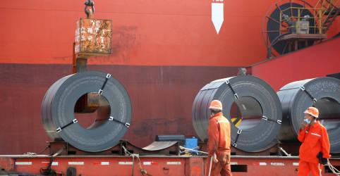 Placeholder - loading - Exportações e importações da China aumentam em outubro em meio à recuperação global