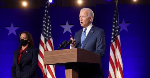 Placeholder - loading - Imagem da notícia Biden vence corrida presidencial dos EUA e pede união do país