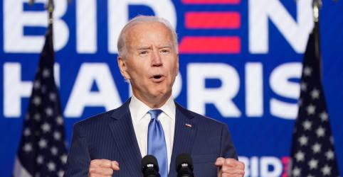 Placeholder - loading - Investidores devem ficar aliviados após redes projetarem vitória de Biden