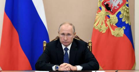 Placeholder - loading - Rússia prefere aguardar contagem final de votos nos EUA antes de parabenizar presidente eleito