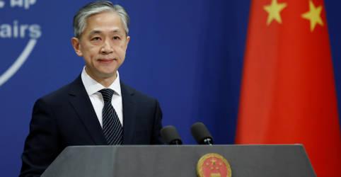 Placeholder - loading - China considera que resultado de eleição dos EUA será determinado conforme leis