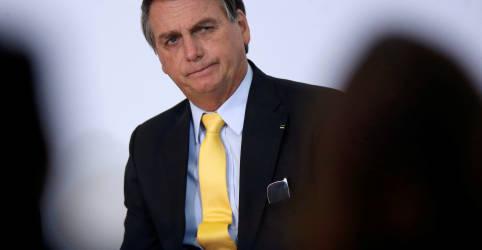 Placeholder - loading - Imagem da notícia Em indireta a Biden sobre Amazônia, Bolsonaro diz que quando a saliva acaba tem que ter pólvora