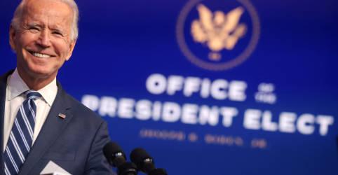 Placeholder - loading - Imagem da notícia Quase 80% dos norte-americanos dizem que Biden venceu e rejeitam posição de Trump, diz Reuters/Ipsos