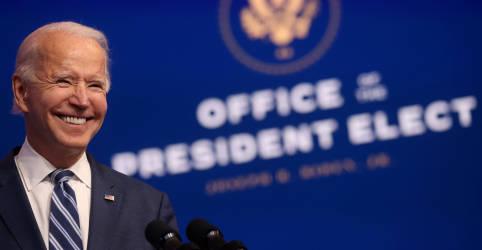 Placeholder - loading - Imagem da notícia Biden planeja mudança para Casa Branca, e Trump mantém esperança em vitória