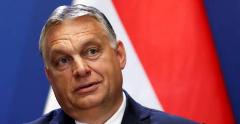 Placeholder - loading - Imagem da notícia Orbán propõe mudanças na lei eleitoral da Hungria e é criticado pela oposição