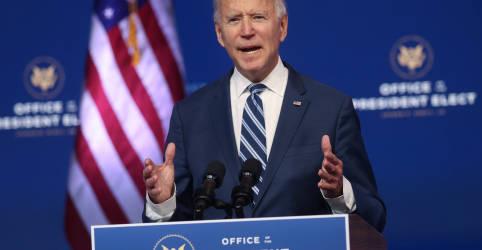 Placeholder - loading - Imagem da notícia Biden tranquiliza aliados dos EUA ao conversar com líderes de Japão, Coreia do Sul e Austrália