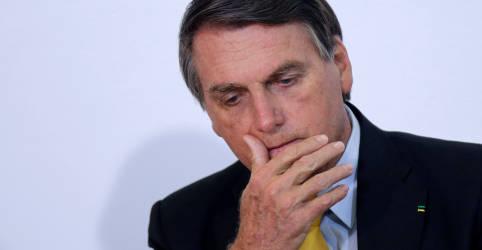 Placeholder - loading - Imagem da notícia Já acabaram as eleições?, questiona Bolsonaro sobre resultado nos EUA