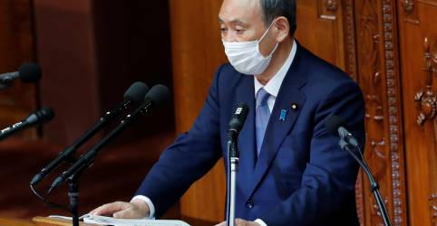 Placeholder - loading - Premiê do Japão diz que não há necessidade de nova emergência por coronavírus; casos atingem recorde