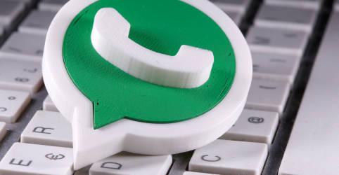 Placeholder - loading - Whatsapp entrará em pagamentos no Brasil 'em breve' e BC conversa com Google, diz Campos Neto