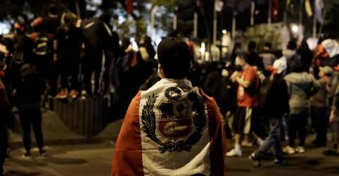 Placeholder - loading - Peru busca terceiro presidente em uma semana para tentar sair de crise