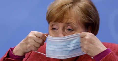 Placeholder - loading - Merkel diz estar muito preocupada com pandemia em Berlim