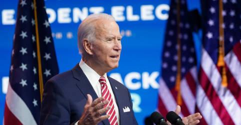 Placeholder - loading - Biden pode anunciar nomes de gabinete em meio a esforço de Trump para impedir transição
