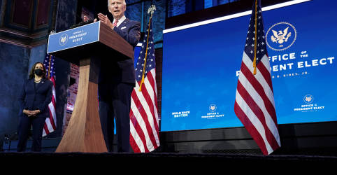 Placeholder - loading - Biden nomeia assessores da campanha e parlamentar para cargos na Casa Branca