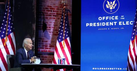 Placeholder - loading - Imagem da notícia Biden se concentra em combate ao coronavírus enquanto Trump mantém luta para reverter derrota