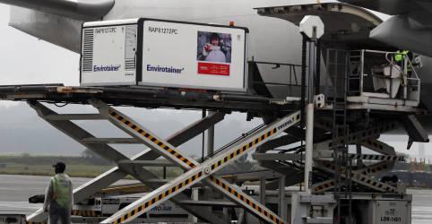 Placeholder - loading - Imagem da notícia Primeiras doses da CoronaVac chegam ao Brasil