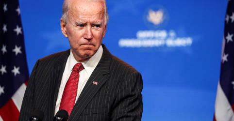 Placeholder - loading - Biden diz que contestação de Trump sobre sua vitória na eleição é 'totalmente irresponsável'