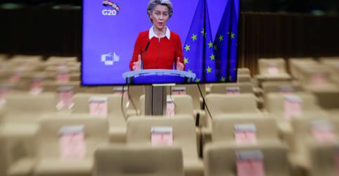 Placeholder - loading - Imagem da notícia UE diz que acordo do Brexit ainda está a 'metros da linha de chegada'