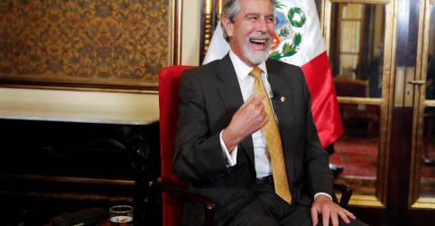 Placeholder - loading - EXCLUSIVO-Presidente interino do Peru diz que não pressionará por referendo sobre Constituição