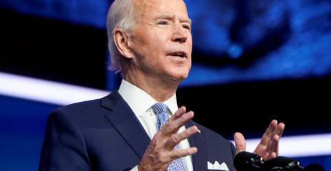 Placeholder - loading - Biden diz que EUA 'estão prontos para liderar' novamente e promete trabalhar com aliados